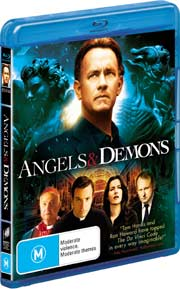 Angels and Demons Blu-ray cover