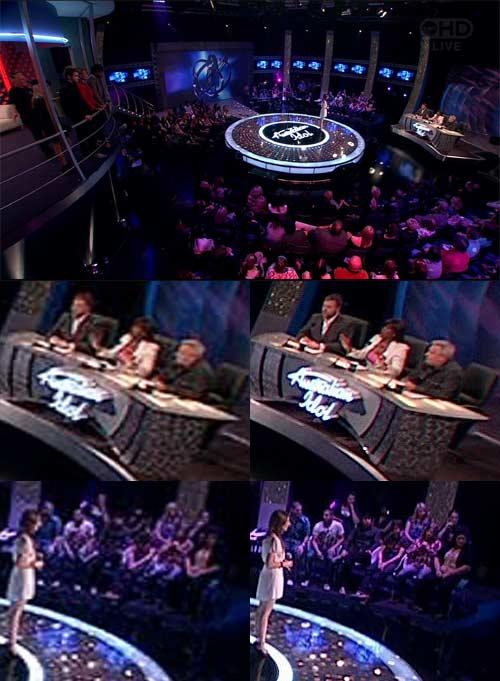 Australian Idol: SD vs HD