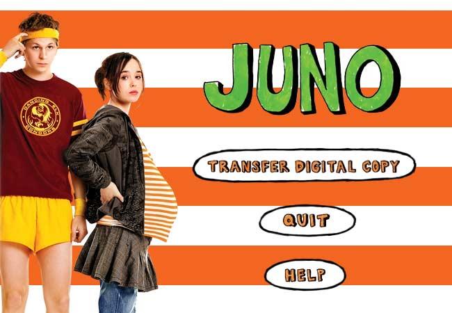 Juno autoplay menu