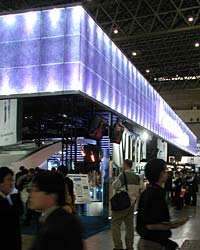 Panasonic stand at CEATEC, Tokyo, 2003