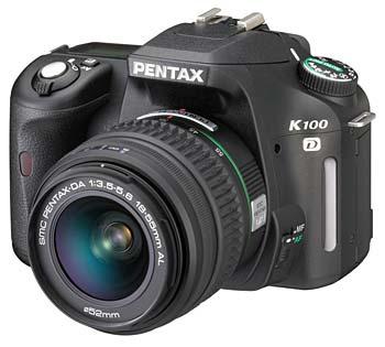 Pentax K100D digital SLR camera