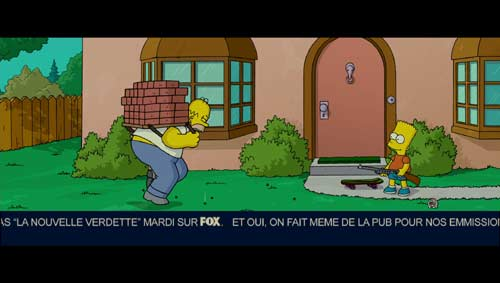 The Simpsons in French