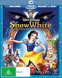 Cover of Snow White Blu-ray