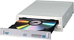 Sony's computer drive will support the new 8.5GB DVD DL+R format, along with DVD+R/RW, DVD-R/RW and CD-R/RW