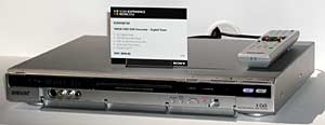 Sony RDRHXD760 DVD recorder with SD tuner
