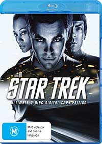 Star Trek Blu-ray cover