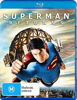 Superman Returns Blu-ray cover