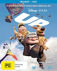 'Up' Blu-ray cover