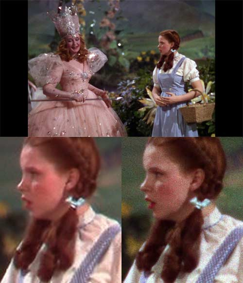 Wizard of Oz: DVD vs Blu-ray